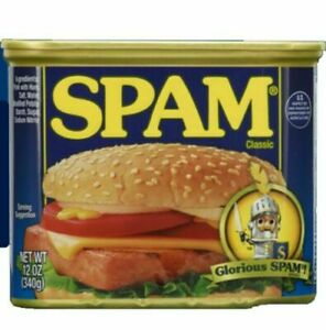 Spam 25% Less Sodium - 12 oz Can - 8 Pack