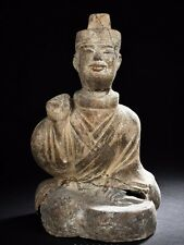 A Chinese Pottery Figure Han Dynasty Or Later