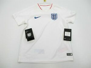 new NIKE Jersey Youth Size 5-6 YRS AUTHENTIC FOOTBALL 2018 ENGLAND White