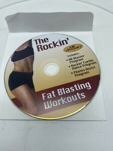 The Rockin' Ab Rocket Fat Blasting Workout DVD Program Cardio Dance Pilates