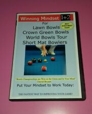 Winning Audio Guide lawn bowls woods training book size bag carrier measure shoe