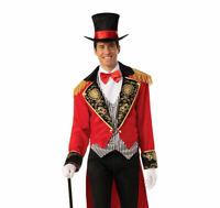 CIRCUS RINGMASTER MAN COSTUME ADULT GREATEST SHOWMAN FANCY DRESS MEN BOOK WEEK