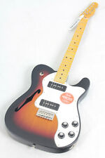 Fender Modern Player Telecaster Thinline Deluxe Electric Guitar, Sunburst