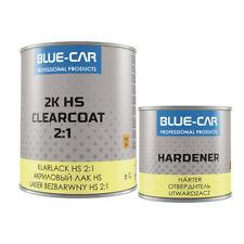 BLUE- CAR Klarlack HS 0,5 Liter mit Härter 0,25 Liter