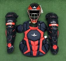 All Star System 7 Axis Intermediate 13-16 Catchers Gear Set - Navy Red