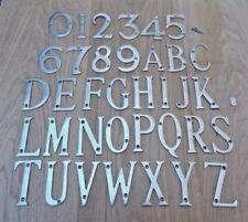 HOUSE FLAT NUMBERS DOOR ALPHABET LETTERS DOOR NAME PLAQUE SIGN ETC