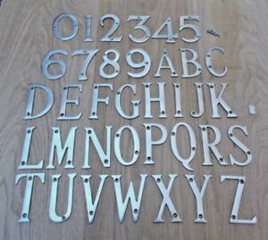 HOUSE FLAT NUMBERS DOOR ALPHABET LETTERS DOOR NAME PLAQUE SIGN ETC