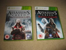 Xbox 360 Games Assassins Creed Revelations & Brotherhood SE Pegi 15 small lot