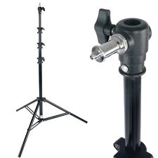 8ft Air Cushioned Heavy Duty Light Stand for Photo Studio Video Photography