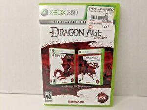 Dragon Age Origins Ultimate Edition Xbox 360 Game Complete CIB