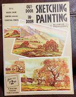Outdoor Sketching-Indoor Painting by Eugene M Frandzen #67 - Walter Foster Publi
