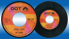 Philippines PAT BOONE April Love 45 rpm Record