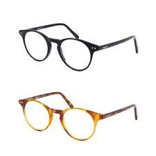 Vintage Blue Light Blocking Computer Glasses Round Retro Eyeglasses Anti Fatigue