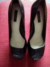ASOS Black Platform Heels - Size 4