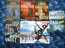 """Linda Fairstein """"ALEXANDRA COOPER"""" SIGNED Mystery Hardcover - READ OFFER"""