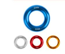 Rock Climbing Canyoning Connect Rap O Rappel Ring Rappelling Rope Rescue Gear