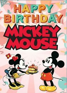 Disney Collect Topps Digital - Happy Birthday Mickey Mouse