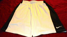 New Men'S Nike Dri-Fit Tennis,Basketball,Soccer, Training Shorts White Sz L