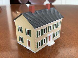 C & M Gudgel 1986 Traditional Pull Apart House Signed Num. 737 1/144 Miniature