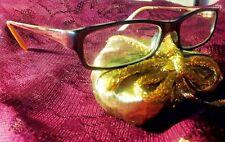 Women Glasses Ralph Lauren Purple Plastic Frame Optical Lenses Eyes Wear