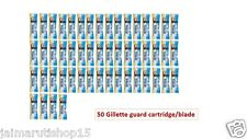 50 pc  Gillette guard cartridge Gillette Guard Razor gilette gilete safty blade
