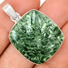 Seraphinite 925 Sterling Silver Pendant Jewelry SRPP1056