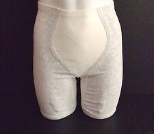 Playtex 18 Hour Panty Girdle 75%Rubber Long Leg S Wst 25-6 4 Garter Nylon Gusset