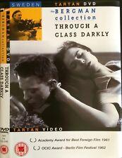 THROUGH A GLASS DARKLY Harriet Andersson, Max Von Sydow INGMA BERGMAN 1962 DVD