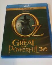 Disney Oz the Great and Powerful 3D Blu-ray Disc 3D + Digital Copy NEW SEALED