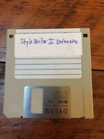 "Vintage 1990s Mac Macintosh StyleWriter II Extension Software 3.5"" Floppy Disk"