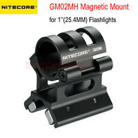 NITECORE Tactical Rifle GM02MH QD Magnetic Mount for 1'' 25.4mm Body Flashlights