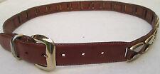- AUTHENTIQUE    ceinture  DUCA Milano  cuir  TBEG  vintage