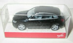 HERPA 1:87 AUDI Q5 - BLACK, Model Car - Mint Perfect Boxed