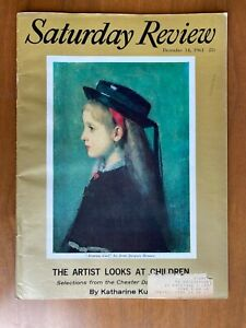 Saturday Review Magazine December 14, 1963.  The Artist Looks at Children, MLK.