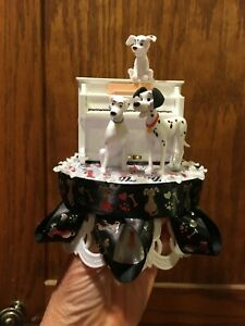 "DISNEY Inspired- 101 Dalmations Cake-Topper-Party-Decoration ""Ebony & Ivory"""