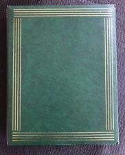 Fotoalbum 30 x 24 cm // 30 weisse Seiten // unbenutzt // mit Zwischenseiten,grün