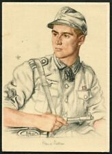 Artist Signed WOLFGANG WILLRICH  11  GERMANY  THIRD REICH  MILITARY  Postcard