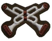 Military TRF Trumpeter Cloth Badge Army Regimental