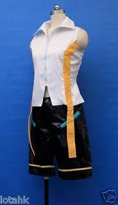 Vocaloid Len Kagamine Cosplay Costume Custom made < Lotahk >