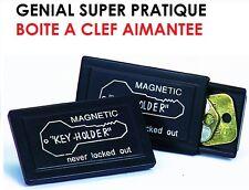 SUPER UTILE! LOT 2 BOITES A CLEF AIMANTEES! TOUJOURS UNE CLEF DE SECOURS! GENIAL