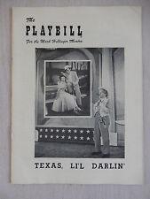 January 1950 - Mark Hellinger Theatre Playbill - Teas, Li'l Darlin' - Delmar