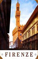 Firenze (Florence) Arrugginiti Insegna Acciaio 460mm x 300mm (Pst)