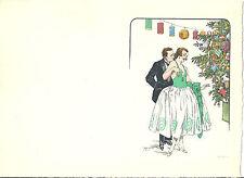 GEORGES GRELLET EPREUVE AU POCHOIR VINTAGE 1920 (GRAVEE PAR MAQUET)