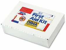 New OSHA Approved First Aid Kit 25 Person 106 Piece Wall Hung Mounted Metal Case