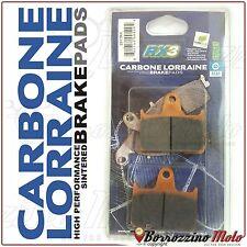 PASTIGLIE FRENO POSTERIORE CARBON LORRAINE 2813RX KAWASAKI ZZR ABS 1400 2012