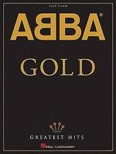 ABBA - GOLD GREATEST HITS EASY PIANO