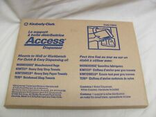 Kimberly-Clark Professional 73900 Access White Wall Mount  Dispenser NEW