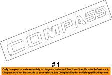 68079789AA Chrysler Nameplate front door 68079789AA