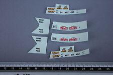 EO Véhicule miniature 1/43 decalcomanie Reims Paris Monte Carlo 23 Michelin