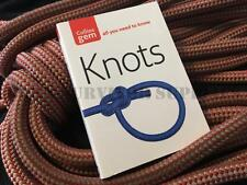 KNOTS GUIDE - New Collins Gem Rope Tying Bushcraft Survival Pocket Book Scouts